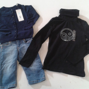 Clothing OKAIDI and GAP for children