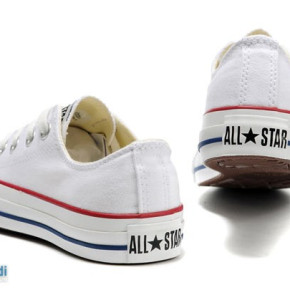 Converse shoes for women and men (model: low white)
