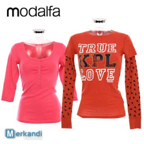 Wholesale of MODALFA T-shirts for women