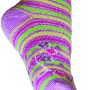 Crawling socks for GIRLS in size L