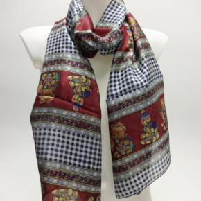 Scarves with bear print