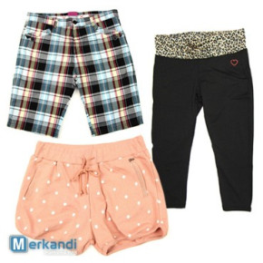 Wholesale of summer branded shorts for women