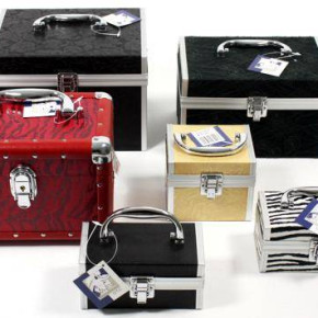 Beauty cases, jewelry cases