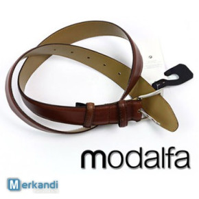 Wholesale of MODALFA belts for men and women