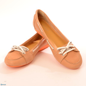 Ladies *Nine West* Leather Boat Shoes