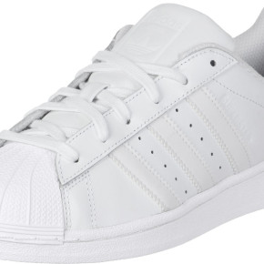 ADIDAS LADIES LEATHER SHOES SUPERSTAR WHITE
