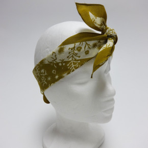 Multifunctional bandana head scarves with flower print