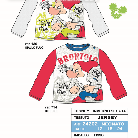 Shoes and clothes for children with motifs from animated films.