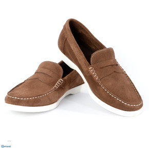 MEN'S LEATHER BOAT SHOES (MADE IN PORTUGAL)