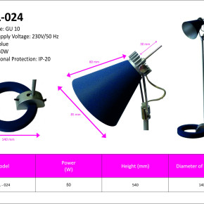 DHL-024 Desk Lamp