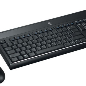 LOGITECH ULTRAX CORDLESS MEDIA DESKTOP Keyboard and mouse
