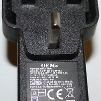 POWER PACK POWER ADAPTER 15V 1.2A OEM ADS18B-D UK