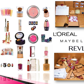 MAYBELLINE, L'OREAL & REVLON ASSORTED COSMETICS LIQUIDATION