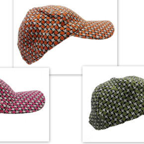 Knitted caps (three colors)