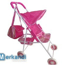 Baby push chair with bag