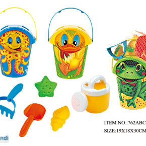 Beach Toy Bucket with accessories