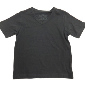Anthracite kids t-shirts boys short sleeves