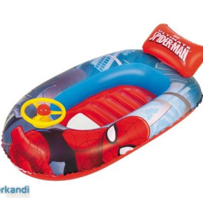 bestway_inflatable_boat_spiderman_with_driving_wheel