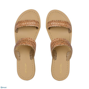 Genuine Leather Woven Handcrafted Women's Flipflop