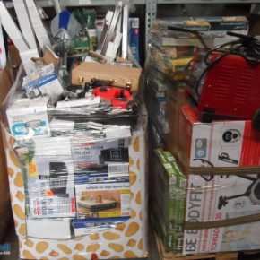 27 Mixed pallets of a large German discount store - leave as items for only € 5900!