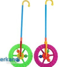 Ocean toy wheel moving with a cane