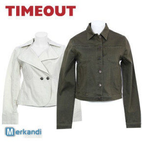 Wholesale of TIMEOUT jackets for women