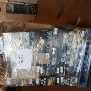 Mixed pallets of-Microwaves,Coffee machines, Mixers,Vacuum Cleaners !