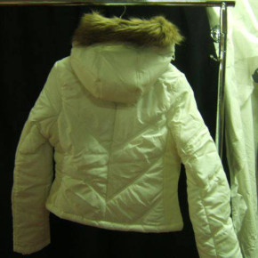 Goose down jackets for adults and children