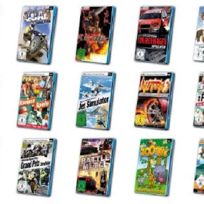 PC games and software stock