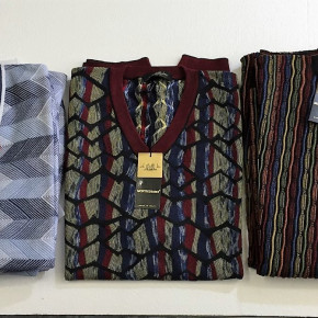 STOCK brands man's clothing