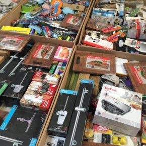 = Pallet boxes Mix Household / Toys items (A-Ware)