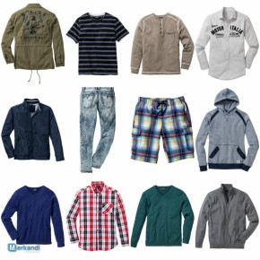 Men's Clothing mixed package - Shirts Jackets Shirts Sweaters etc