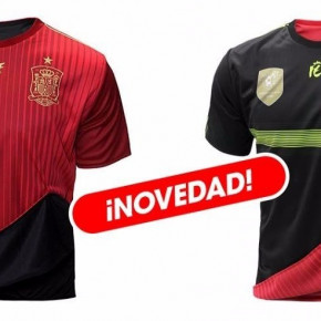 Reversible T-shirt of the Spanish selection