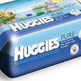 Huggies Pure Babywipes , 72 pieces