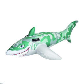 bestway inflatable shark military camouflage 183 cm