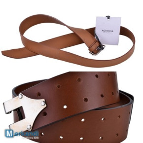 Agnona womens belts 100% Leather Made in Italy