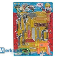 tool play set consists of 17 tools