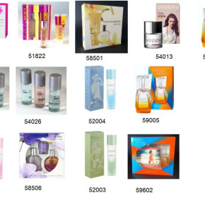 Closeout  offer for perfumes and toiletries made in Germany & Austria