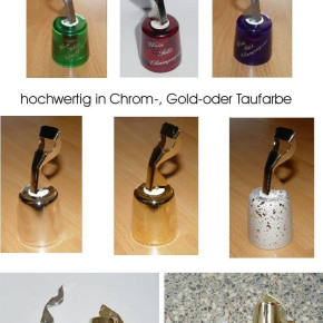 Wine bottle stoppers with opener