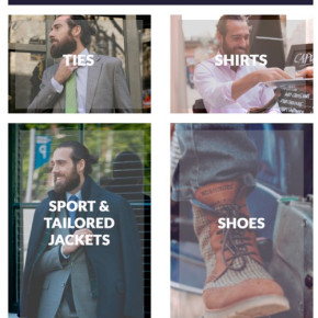 RUSHMORE Jackets, Shirts, Ties and Shoes for Men