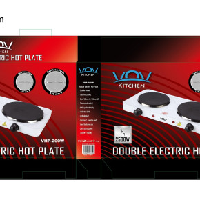 Single and Double Cooking Hot Plate