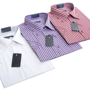 Men's shirts with short sleeves