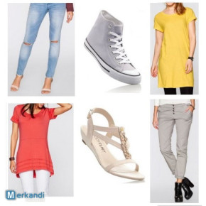 Women's Tops, jeans and shoes