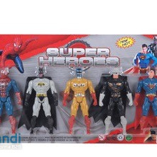 Set of five fighters,super heroes