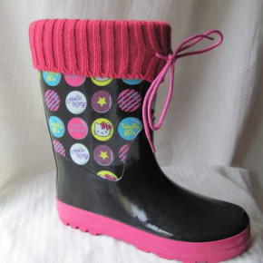 "Hello Kitty ""Totally 80`s"" wellingtons"