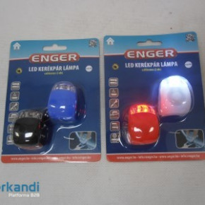 Bicycle lights 2pcs silicone eng-066