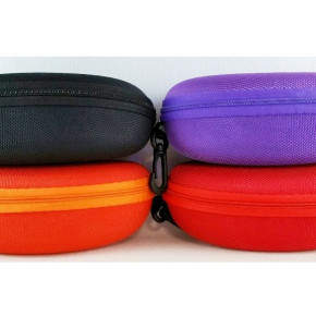 Case for glasses with zipper color mix (MJ7615)