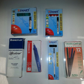 lot stationery, school supplies