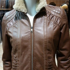 Lot of genuine leather jackets for women