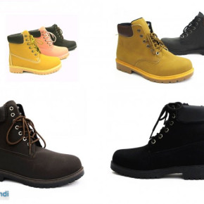 60 x Mens and Ladies Trekking Boots Winter Shoes per pair € 11.90